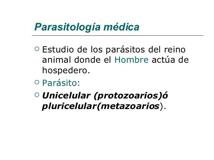Parasitos Generaridades Slide 2