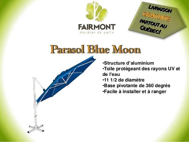 parasol de jardin parasol vendre livraison gratuite. Black Bedroom Furniture Sets. Home Design Ideas