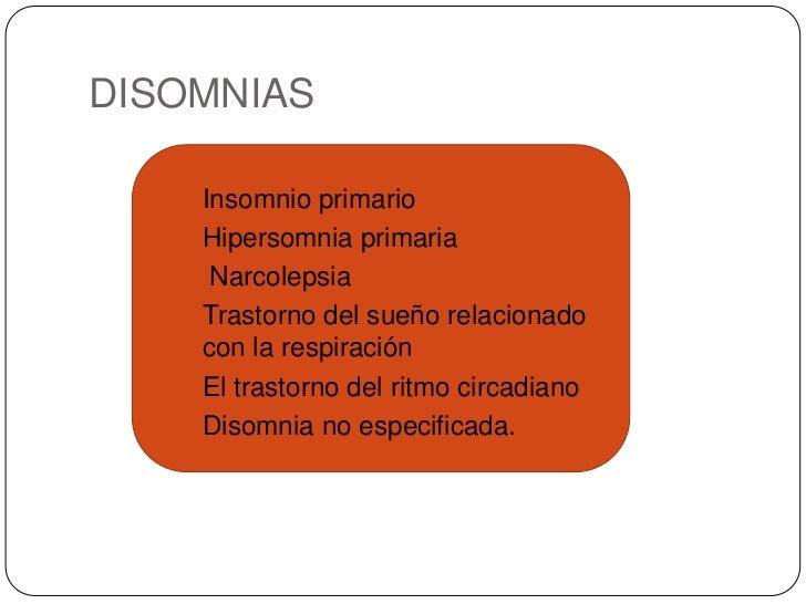 Trastorno De Sueno En Ninos Parasomnias Disomnias