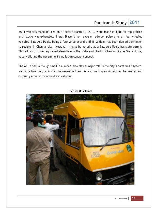 Share Autos In Chennai