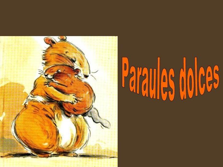 Paraules dolces
