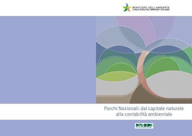Parchi Nazionali: dal capitale naturale alla contabilità ambientale
