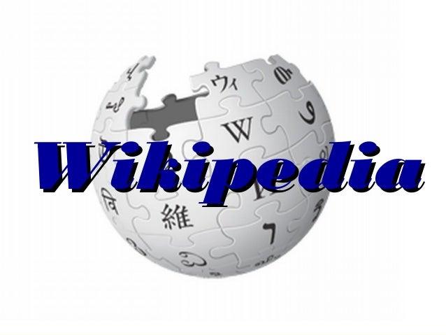 WikipediaWikipedia
