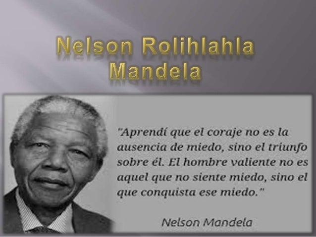 Nació el 18 de julio de 1918 en el pueblo de Mvezo, fue bautizado con el nombre de Rolihlahla, palabra de origen Xhosa que...