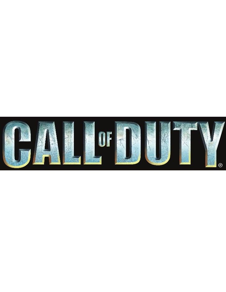 ELEMENTOS HISTORICOSlos elementos básicos para el desarrollo de los primeros títulos de lasaga de call of duty suelen ser ...