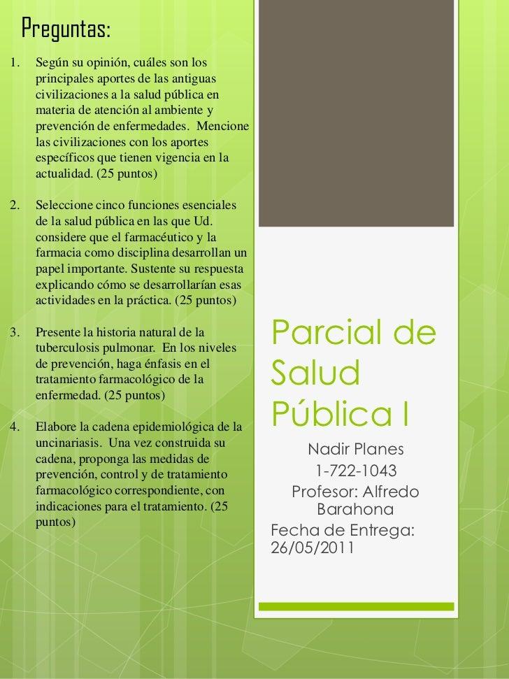 Parcial salud pública