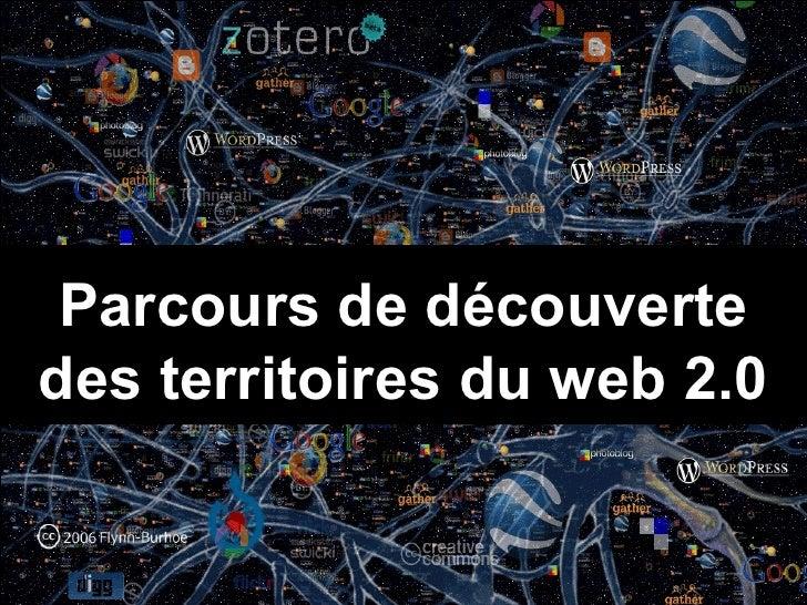 Parcours de découverte des territoires du web 2.0