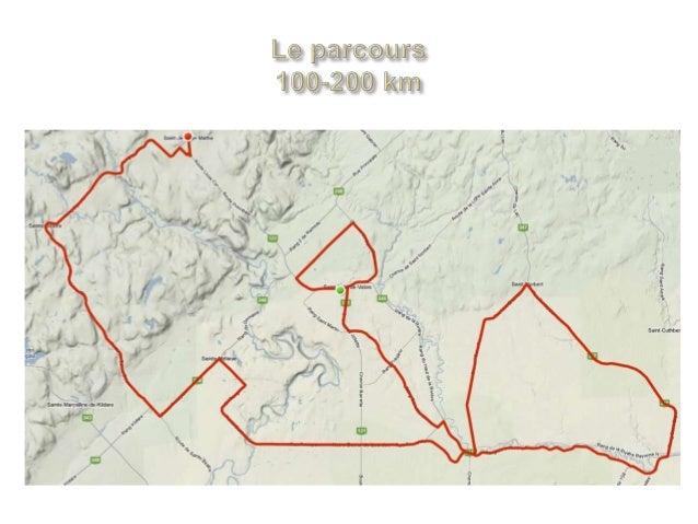 Parcours Officiel 200 Km de coeur Slide 3