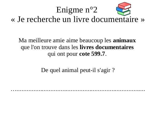 Liaison Cm2 6e Decouverte Du Cdi Parcours 1