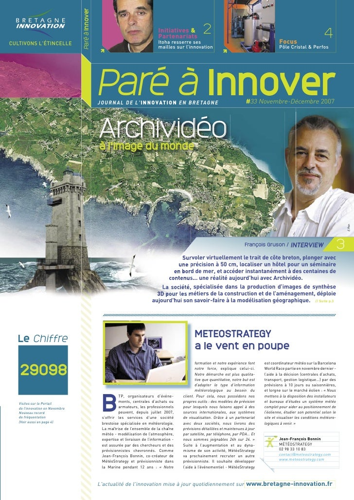 Paré à Innover                                                                                   Initiatives &            ...