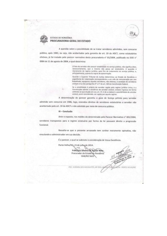 PGE finalmente reconhece direitos dos servidores reintegrados