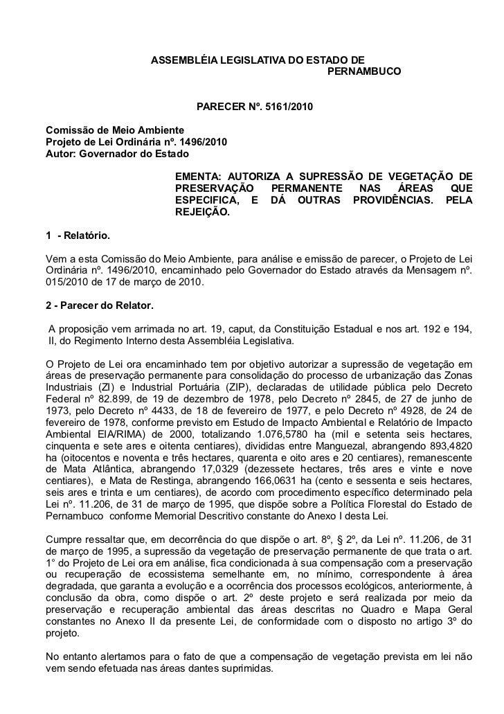 ASSEMBLÉIA LEGISLATIVA DO ESTADO DE                                                    PERNAMBUCO                         ...