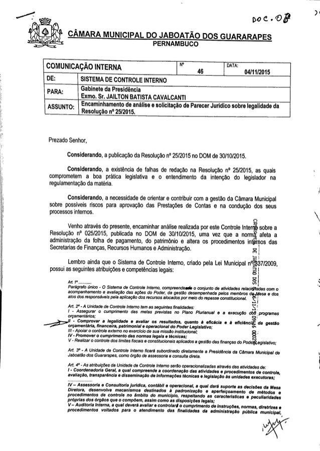 Parecer controladoria_camara_jaboatão_cargos_comissionados