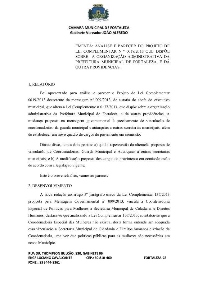 CÂMARA MUNICIPAL DE FORTA...