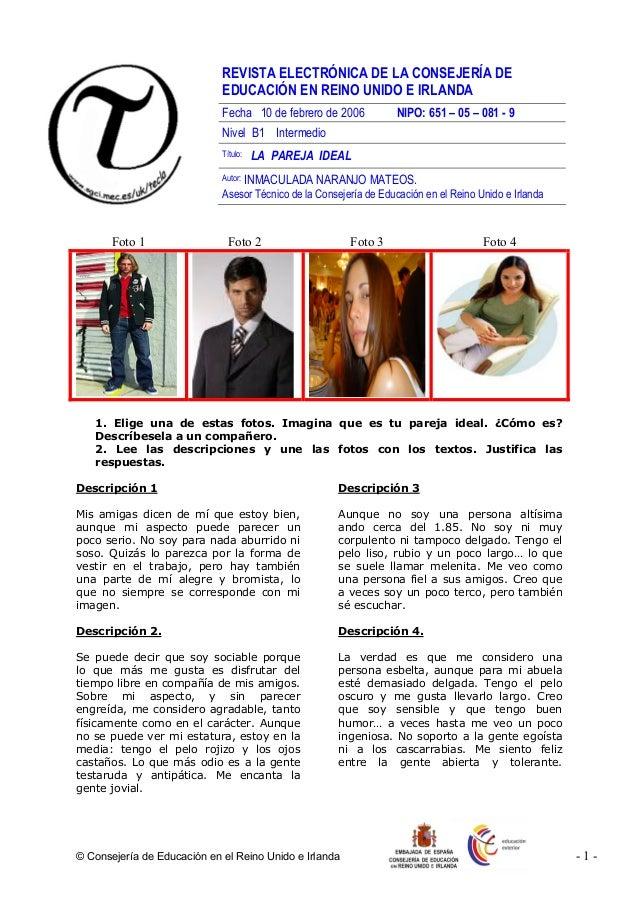 © Consejería de Educación en el Reino Unido e Irlanda - 1 - REVISTA ELECTRÓNICA DE LA CONSEJERÍA DE EDUCACIÓN EN REINO UNI...