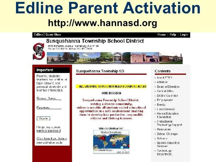 Edline Parent Activation http://www.hannasd.org