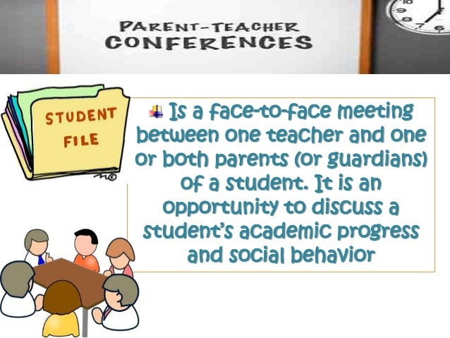 Parent teacher conference altavistaventures Choice Image