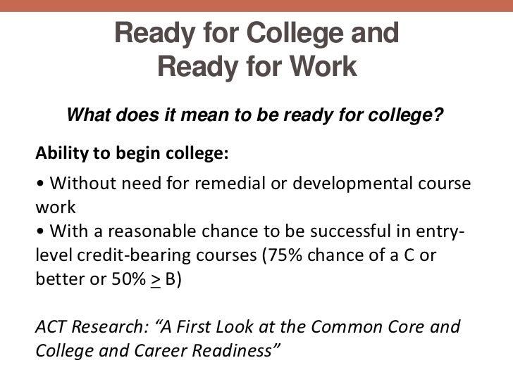 Developmental/remedial coursework