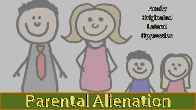 •Parental alienation is the process, and the result, of the psychological manipulation of a child into showing unwarranted...