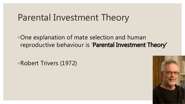 discuss sex differences parental investment Gender differences in parental investment relate to females reflecting high parental investment and resultant long-term mating strategies, and males demonstrating low parental investment and.