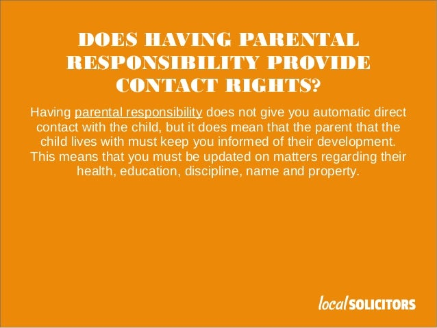 parental rights and roles Education law 23-b reporting requirements  employees in understanding the various roles and  statement setting forth parental rights,.