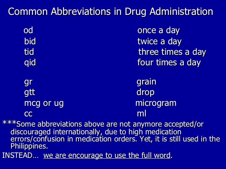Parenteral administration chat