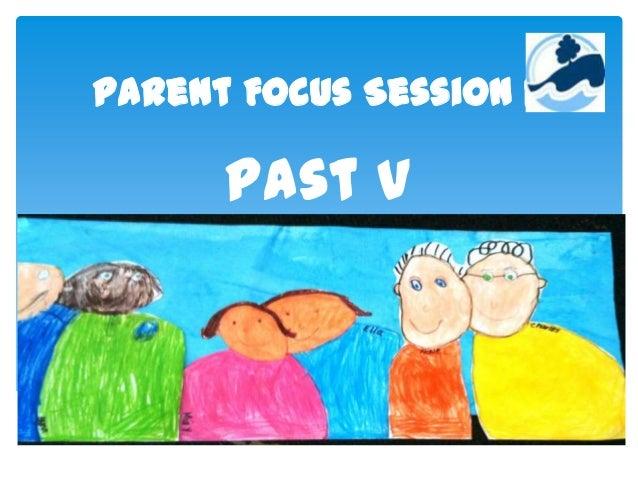 Parent Focus Session 1. Past V Present