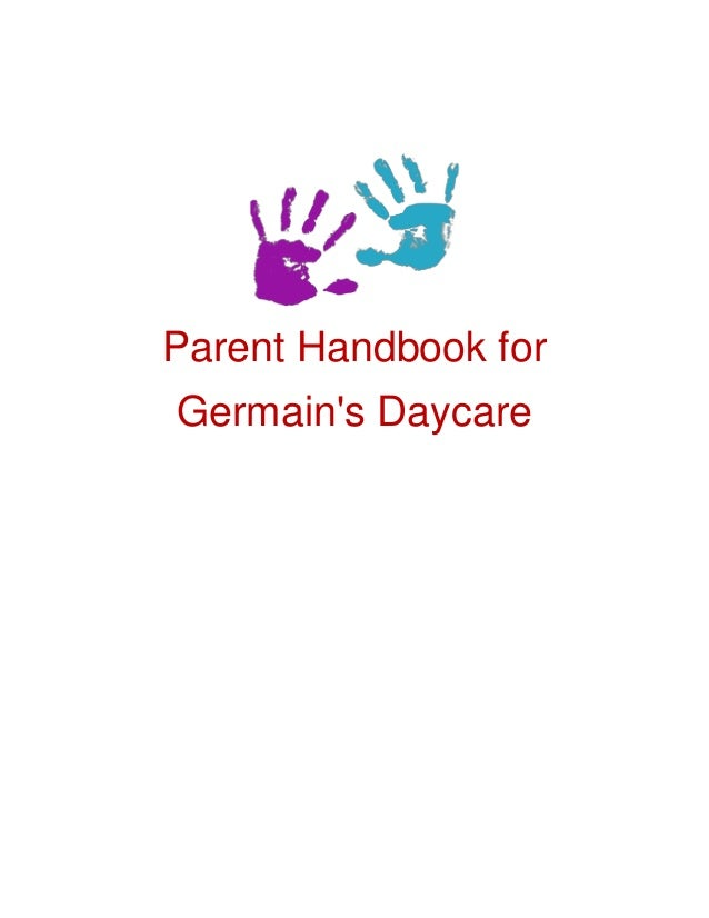Parent Handbook for Germain's Daycare