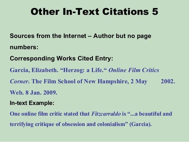 Mla article citation no author