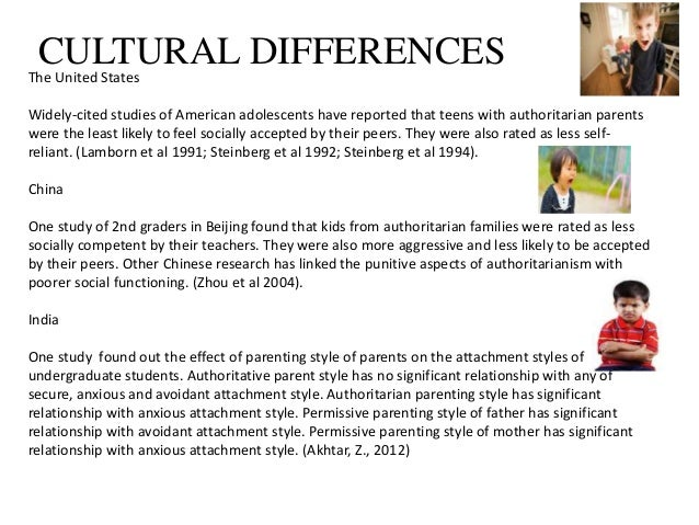 parenting style essay papers The correlation between parenting styles and parenting practices is an important one, which can effect the outcome of the children (brenner and fox the first cluster of results did not relate to any of baumrind's parenting style, due to the fact that parenting style research has often omitted parents.
