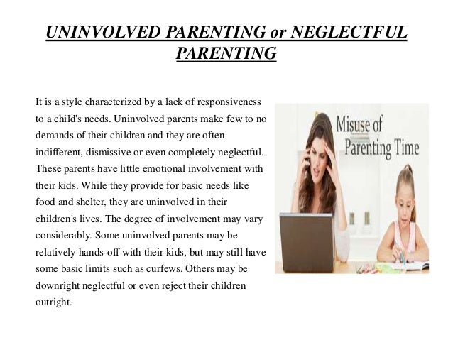 effects of parenting styles Parenting stylespresented by muaz al-jarhi overview definition of parenting style the different parenting styles the outcomes/effects.