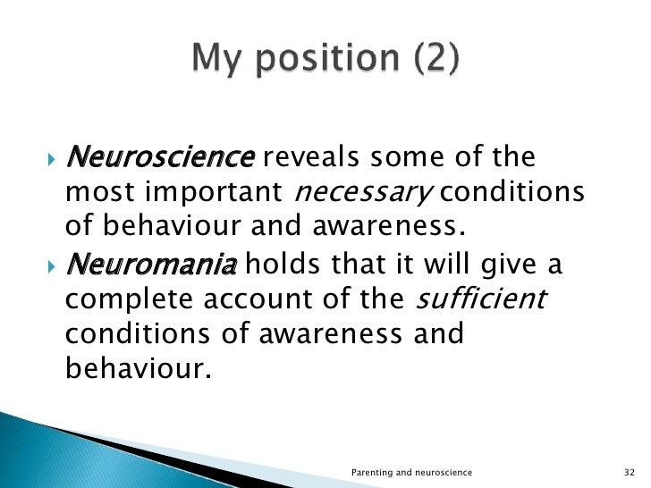 Parenting and neuroscience