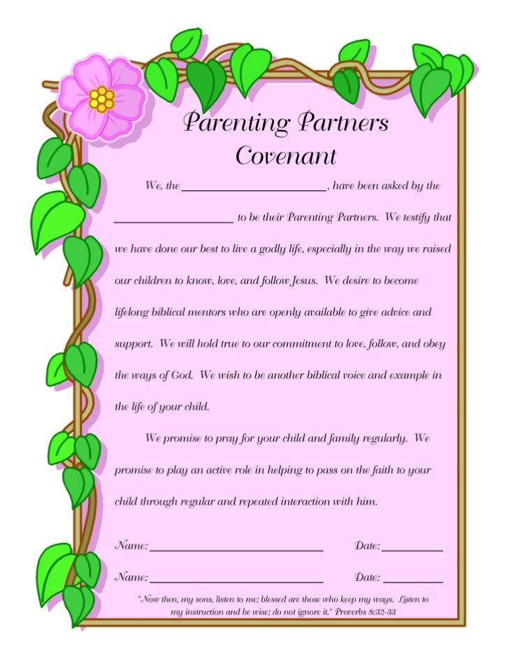 F@H Parenting Partner Covenant