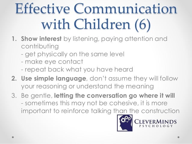 An introduction to effective communication
