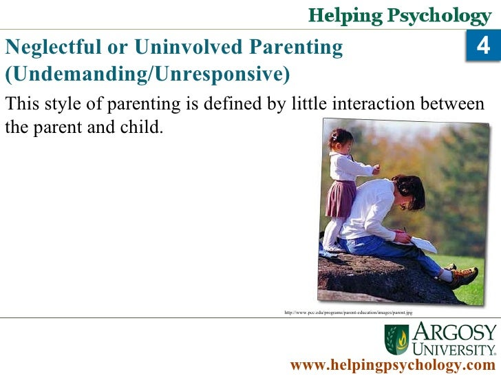 parenting psychology Parenting styles, discipline, and behavioral outcomes many psychologists throughout history have indulged in studies related to parenting behavior and how children are affected from such behavior.