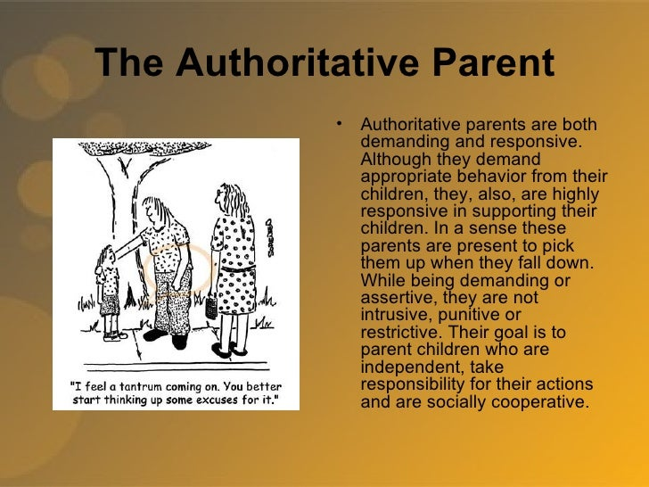 the effects of the authoritative parenting Journal of psychology and clinical psychiatry the concept of authoritative parenting and it's effects on academic achievement volume 3 issue 6 - 2015.