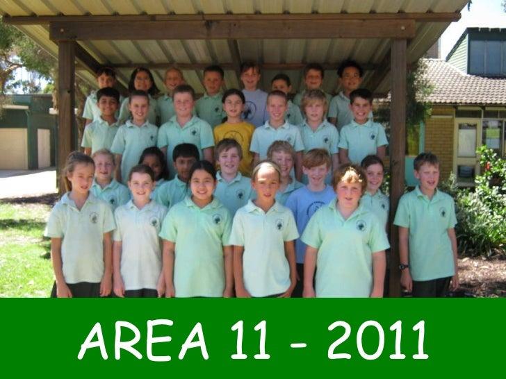 AREA 11 - 2011