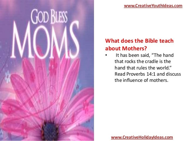 what does the bible say about single mothers dating