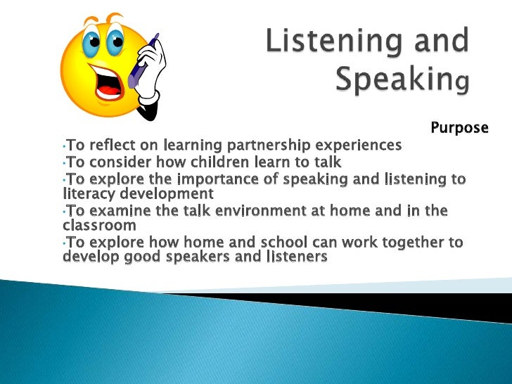 listing and speaking Learning objectives & teaching activities pre-emergent literacy level novice literacy level listening/speaking listening/speaking elementary elementary.