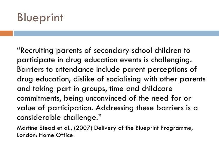 Parents and school based drug education blueprint malvernweather Choice Image
