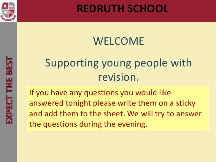 REDRUTH SCHOOL                                        Welcome                                   WELCOMEEXPECT THE BEST    ...