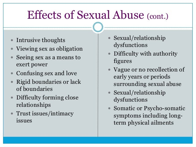 Childhood Development - Sexual Behavior