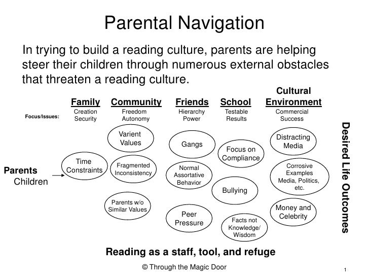 Parental Navigation<br />In trying to build a reading culture, parents are helping steer their children through numerous e...