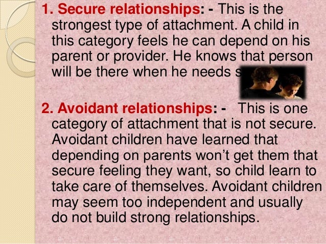 Parents children relationship essay