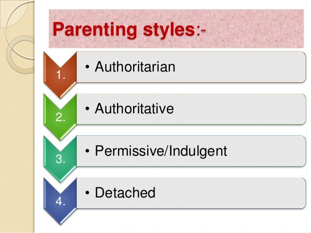 critical analysis parenting styles Associations between different parenting styles parental involvement is a critical factor in virtually every form of treatment for parenting styles.