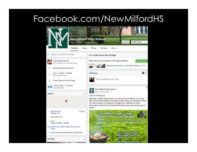 Facebook.com/NewMilfordHS