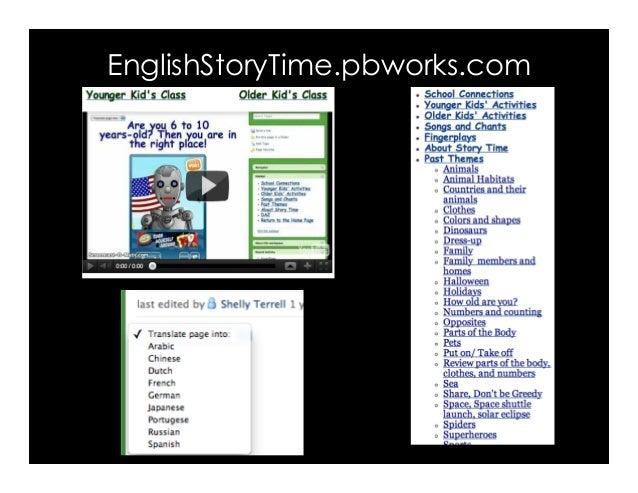 EnglishStoryTime.pbworks.com