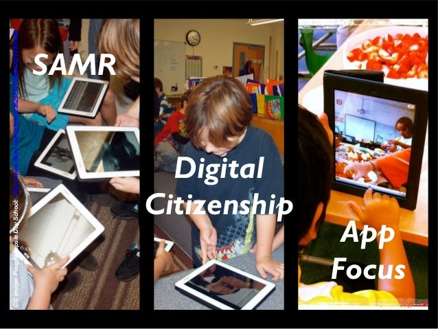 iPads + SAMR in the Elementary School - Parent Session Slide 3