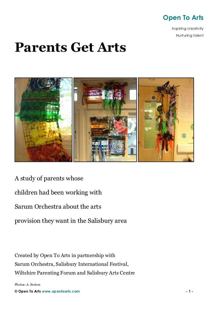 Open To Arts                                                        Inspiring creativity                                  ...
