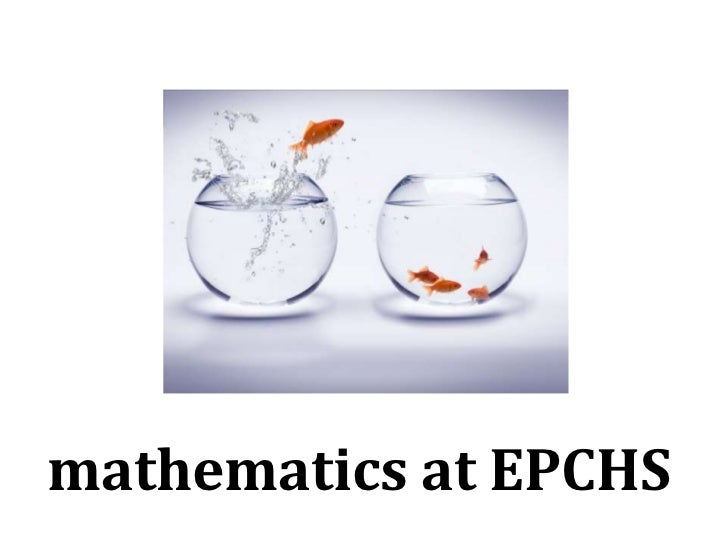 mathematics at EPCHS